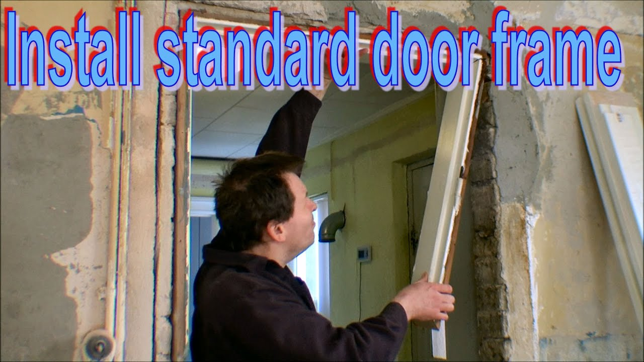 Removing And Installing A Door Frame In My PlayHouse   168   YouTube