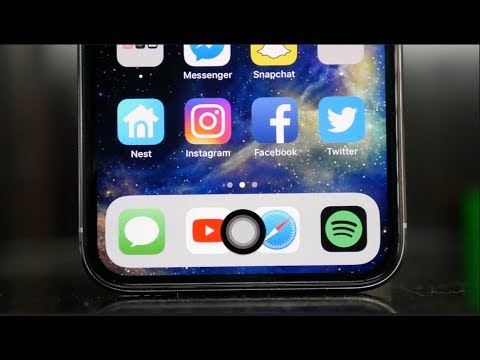 Download Youtube: Here's How To Add A Home Button to the iPhone X