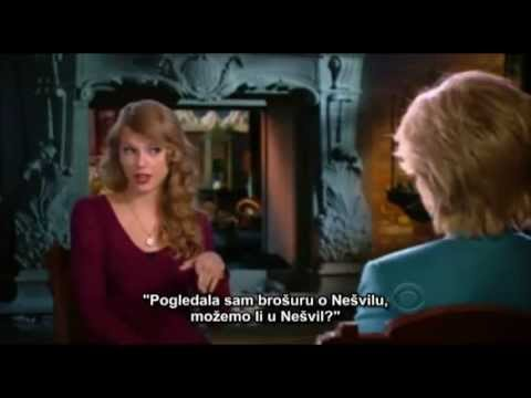 Taylor Swift on 60 Minutes [Serbian subtitles]