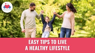 Tips for a healthy lifestyle your family