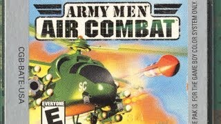 Classic Game Room - ARMY MEN: AIR COMBAT review for Game Boy Color