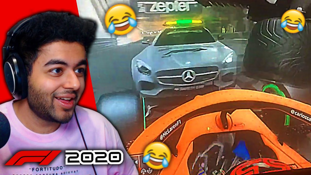 SAFETY CAR HITS & FLIPS CARS AT MONACO on the F1 2020 Game ...