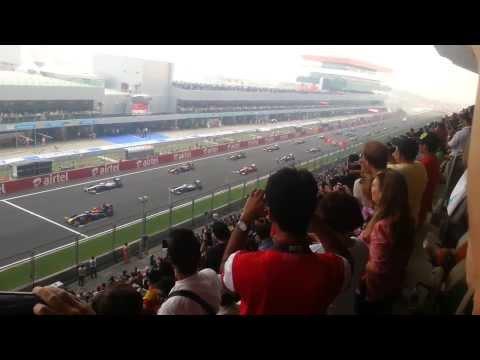 Formula One Indian Grand Prix 2013 - Start