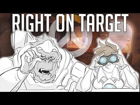 Right on Target [Widowtracer] | Overwatch Comic Dub