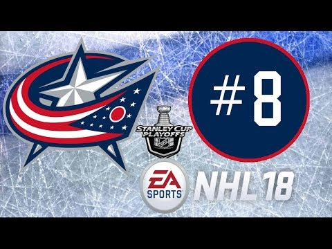 NHL 18 ~ Columbus Blue Jackets Franchise Mode Commentary ~ #8 (The Time is Now!)