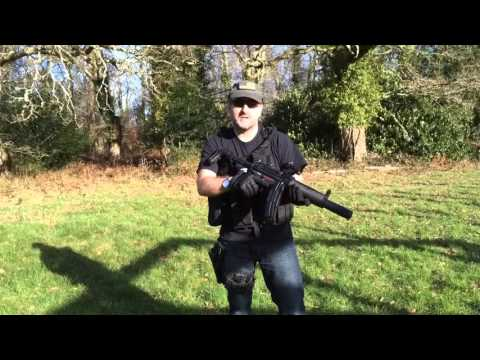 G&G MP5  SD6 Navy Seal G&G PM5SD6 Team Punisher Airsoft UK