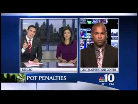 Oct 20th NBC 10 NEWS Delaware County expert legal analysis Enrique Latoison comments on Philly's new marijuana law