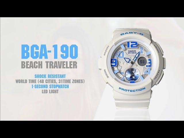 CASIO BGA BABY-G 190GL-7B - Dámske hodinky  816ee4ced9f