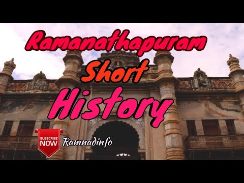 Ramanathapuram - Short History of the District