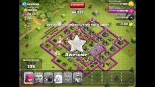 Clash of Clans Barbarian King in Action BdG