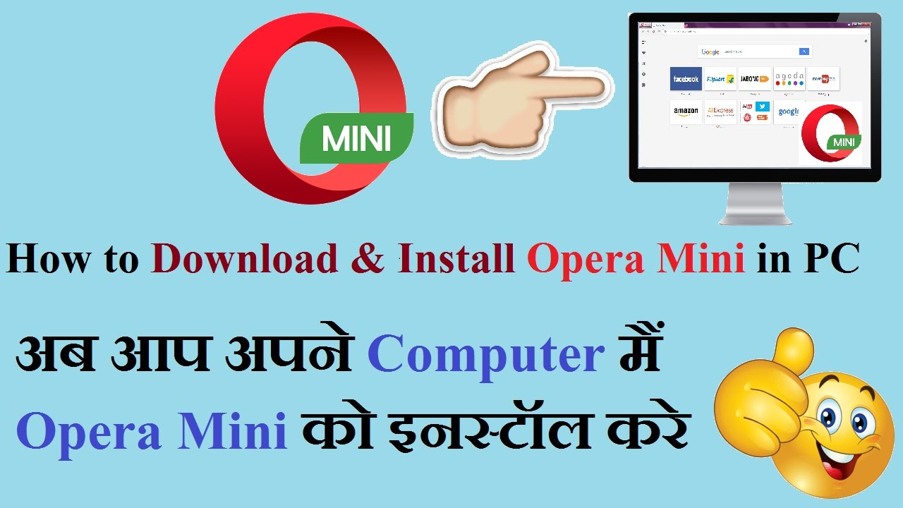 How to Download & Install Opera Mini in PC Windows 7/8 1/10