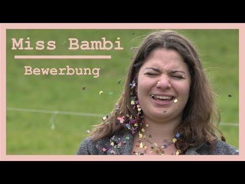 Miss Bambi   Bewerbung