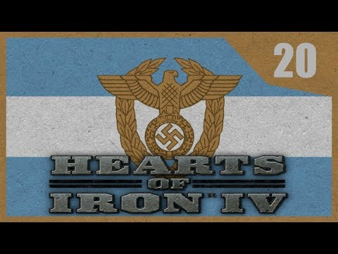Hearts of Iron IV - Road To 56 - Argentina #20