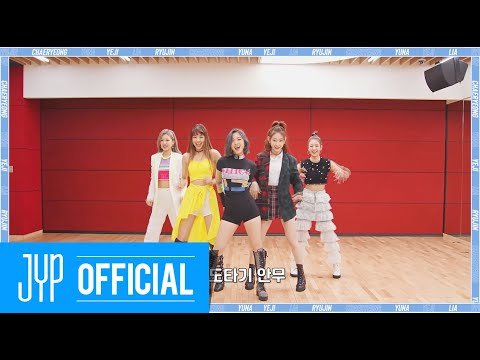 "ITZY ""WANNABE"" Dance Practice (Part Switch Ver.)"