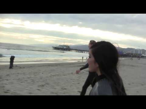 Surfin' in Santa Monica