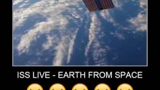 LEAKED FOOTAGE of p-brain secret mission to ISS!! EARTH NOT FLAT!!!!!