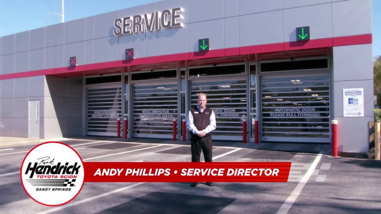Rick Hendrick Toyota Of Sandy Springs RHSS 0046 H Service Video