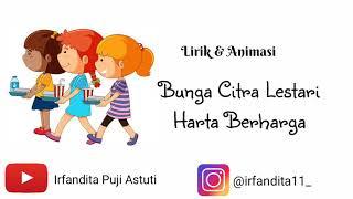 Bunga Citra Lestari - Harta Berharga ost Keluarga Cemara ( Lirik & Animasi )