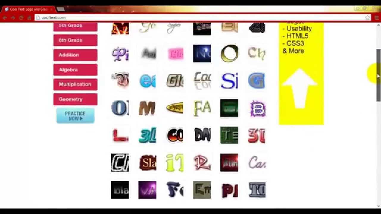Como hacer logos con letras sin programa bien explicado for Logos con letras