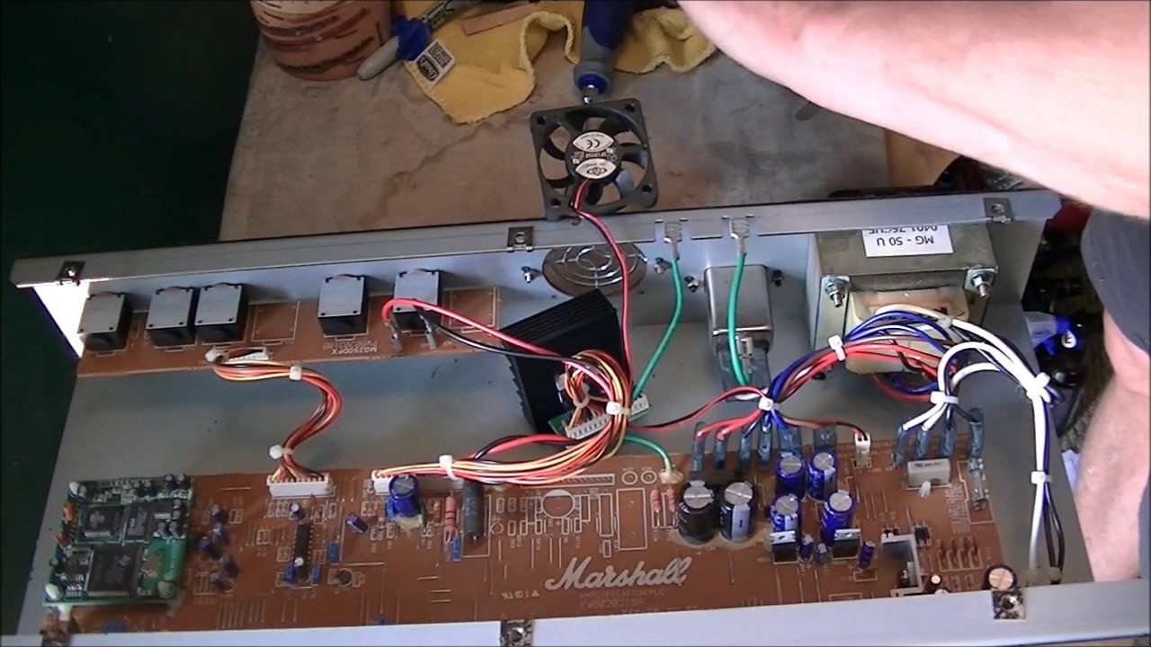 marshall input jack wiring [ 1280 x 720 Pixel ]