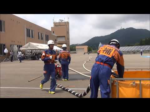 2018秋田県五城目町第一分団小型ポンプ操法