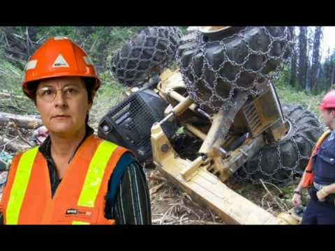 Logging Accident Operator Dies in Skidder Rollover  YouTube