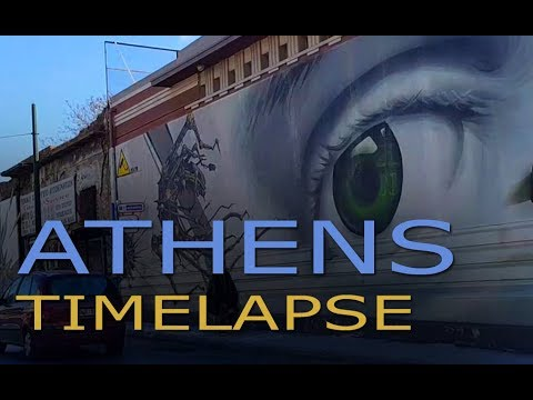 Athens Timelapse