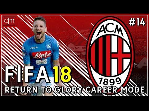 FIFA 18 AC Milan Career Mode: Tantangan Berat Serie A Lawan Torino & Napoli #14