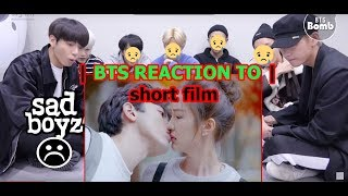 "BTS reaction To ""Hate But Love"" Sad And Sweet Movie"