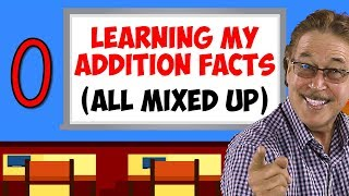 Learning My Addition Facts (All Mixed Up) | Addition Facts for 0 | Jack Hartmann
