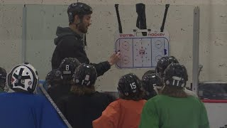 Columbine hockey wastes no time for practice