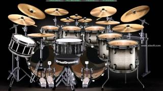 THE GAME - TRIPLE H THEME BY MOTORHEAD - (on virtual drums)