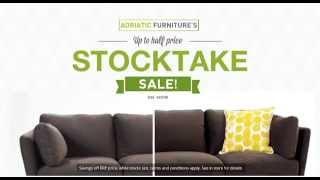 Adriatic Furniture Stocktake Sale TV ad2 June 2015