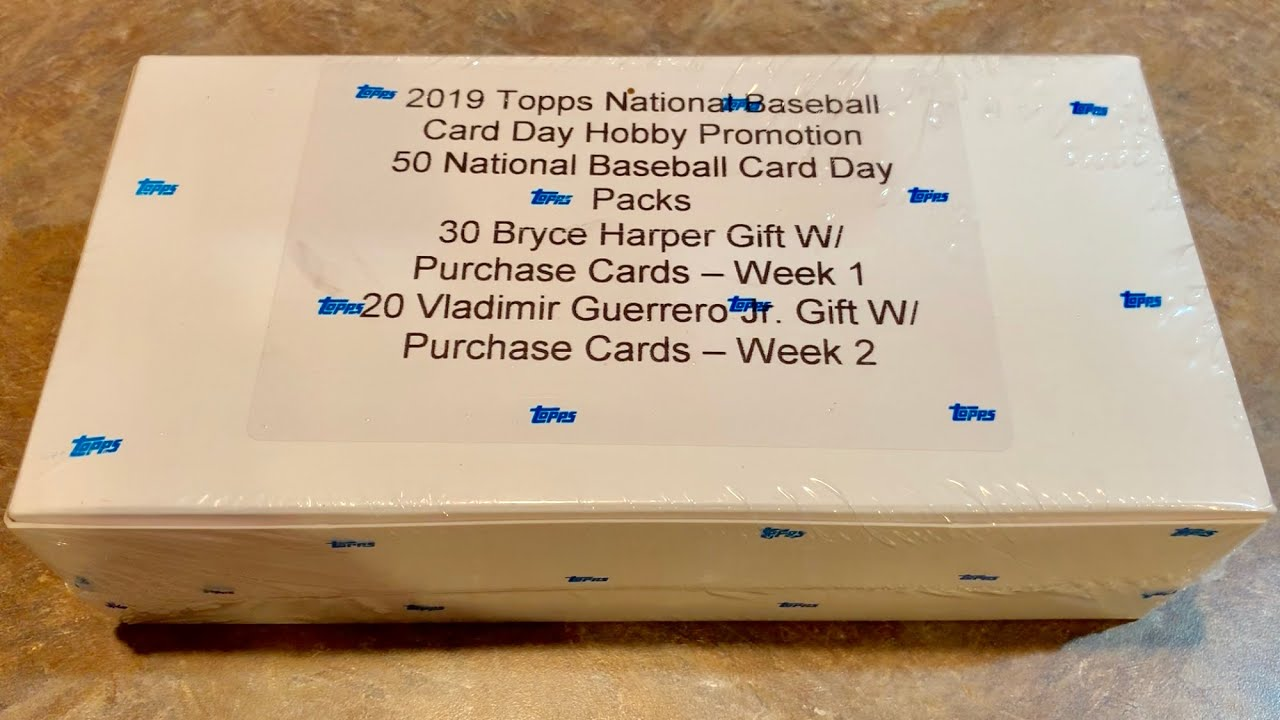 2019 Topps National Baseball Card Day Hobby Box Break Autographs