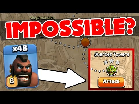Clash Of Clans | HOG RIDER MAYHEM!! | Impossible Single Player Challenge!