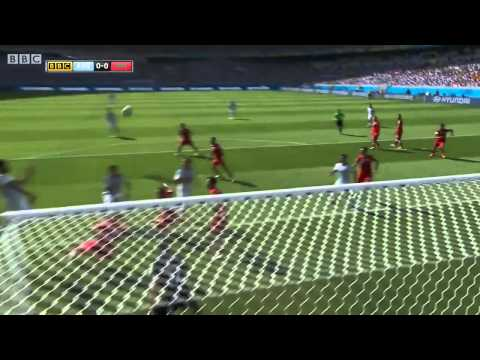 FIFA World Cup 2014 -  Argentina vs  Iran Highlights   (BBC)