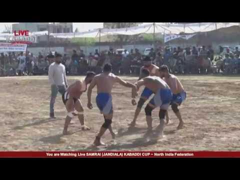LIVE SAMRAI (JANDIALA) KABADDI CUP l LIVE KABADDINorth India Federation
