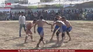 LIVE SAMRAI (JANDIALA) KABADDI CUP l LIVE KABADDI   North India Federation