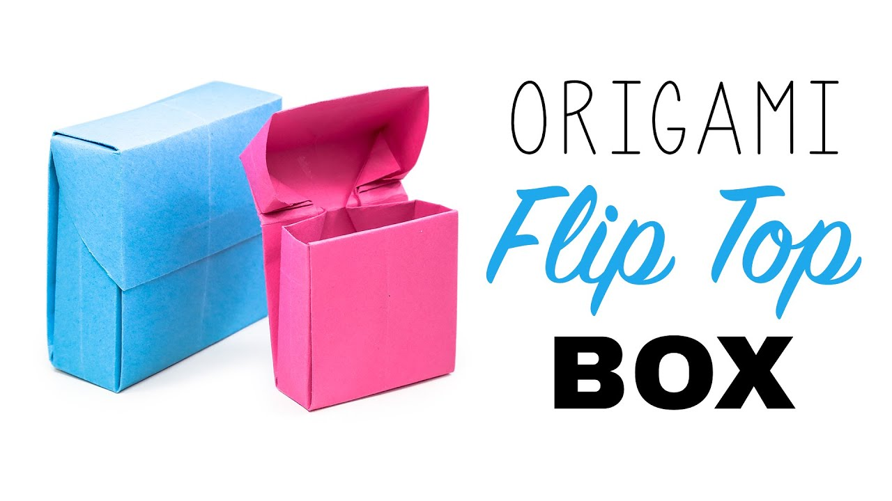 Origami Flip Top Box Tutorial ♥︎ DIY ♥︎ - YouTube - photo#17