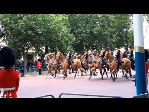 2015 06 13 Trooping The Colour; The King's Troop Royal Horse Artillery