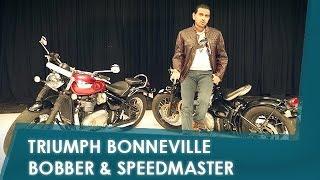 Sponsored: Triumph Bonneville Bobber | Triumph Bonneville Speedmaster