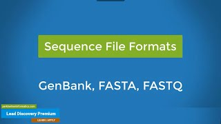 Lead Discovery Biologics Sequence File Formats