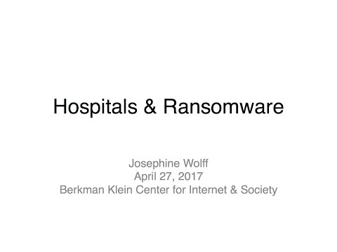 Holding Hospitals Hostage: From HIPAA to Ransomware