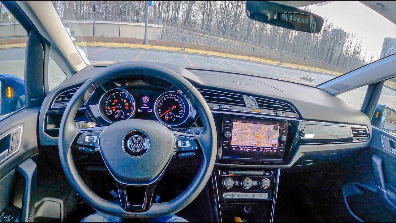 2021 Volkswagen Touran R-Line (1.5 TSI EVO 150HP) | POV Test Drive #656 Joe Black