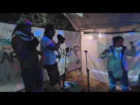 Ophir And Cap Performing village People - Ymca [karaoke] In Midburnerot2016 31-12-2016