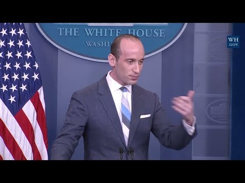 """ANGRY: CNN JIM ACOSTA VS STEPHEN MILLER IN HEATED DISCUSSION ON IMMIGRATION """"ARE YOU THAT STUPID""""?"""