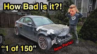 I Just Bought the CHEAPEST 2011 BMW 1M in North America from a Salvage Auction! (1 of 150)