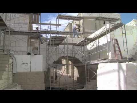 LDS Church Jerusalem movie set