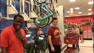 Mean Wife Pranks Hubby at Target!!!
