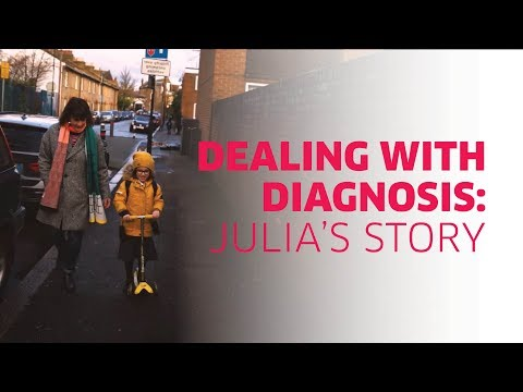 Dealing with a visual impairment diagnosis: Julia's story